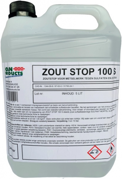 ZOUT STOP 100 S