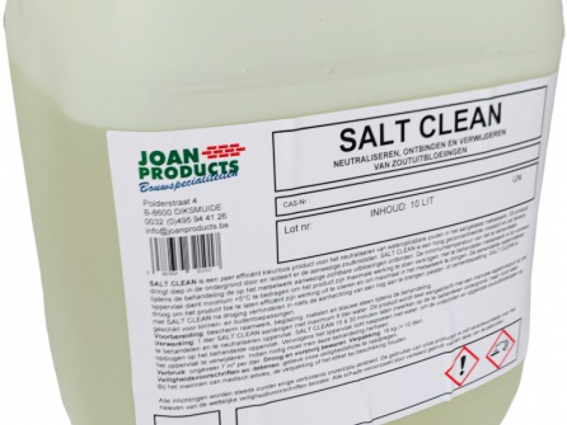 SALT CLEAN Grondeer producten - Joan Products